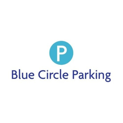 Blue circle parking None