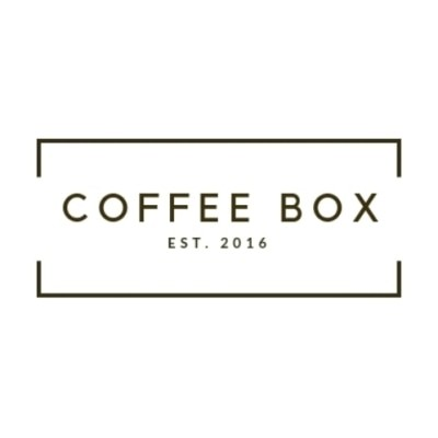 Coffee box None